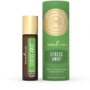 stress away roll-on kant en klare roller van young living tegen stress en spanningen blooming blends