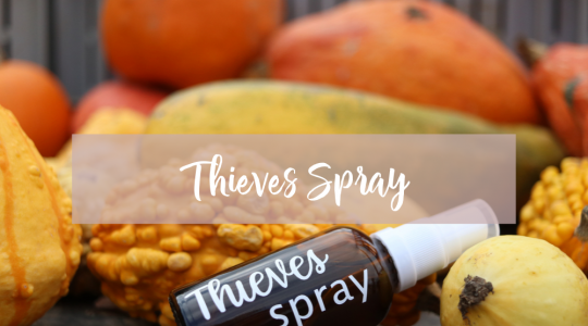 herfst olien, young living, blooming blends, thieves spray pompoenen