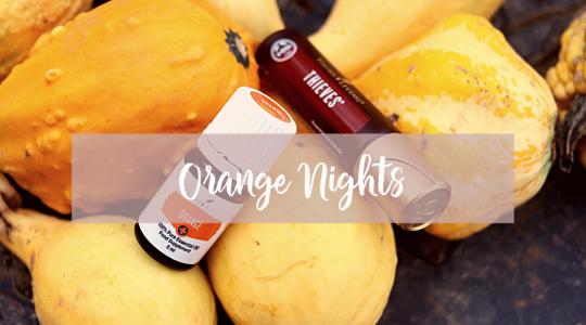 Recept met essentiële oliën, Young Living, Thies, Orange Nights, Blooming Blends