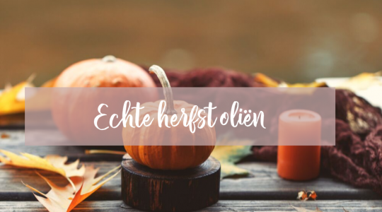 herfst olien, young living, blooming blends
