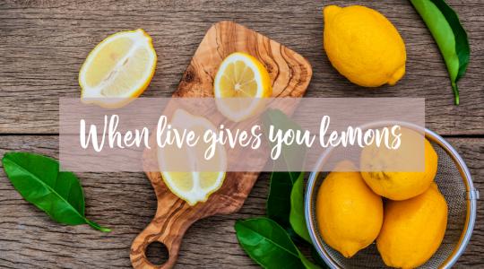 recepten met Lemon, Young Living, Blooming Blends