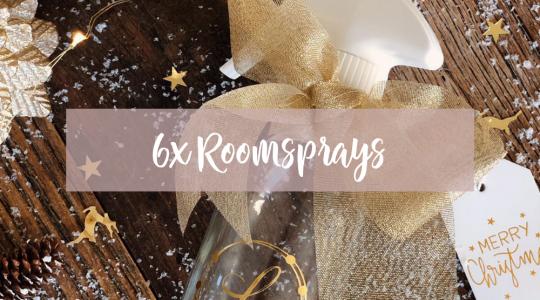 DIY Roomspray, Blooming Blends