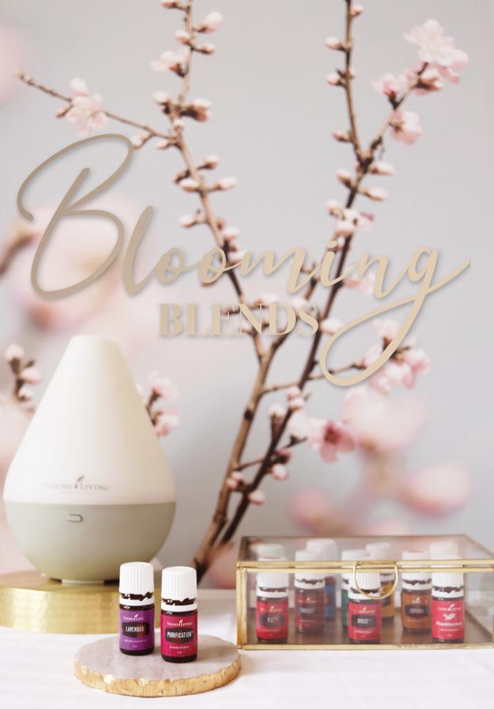 blooming blends informatie boekje over essentiele olien young living