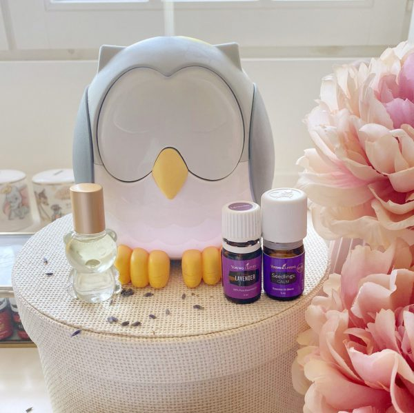 essentiele olien voor baby feather the owl diffuser blooming blends