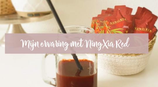Mijn ervaring met NingXia Red